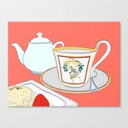 Afternoon Tea Break Canvas Print