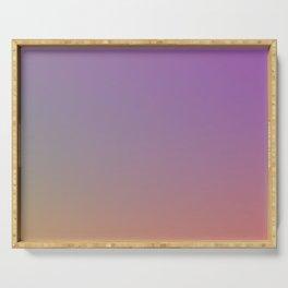SHOOTING STARS - Minimal Plain Soft Mood Color Blend Prints Serving Tray
