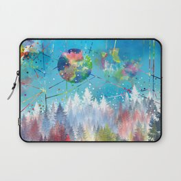 colorful forest 3 Laptop Sleeve