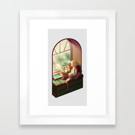 Summer Love vrs. 2 - Olaf Framed Art Print