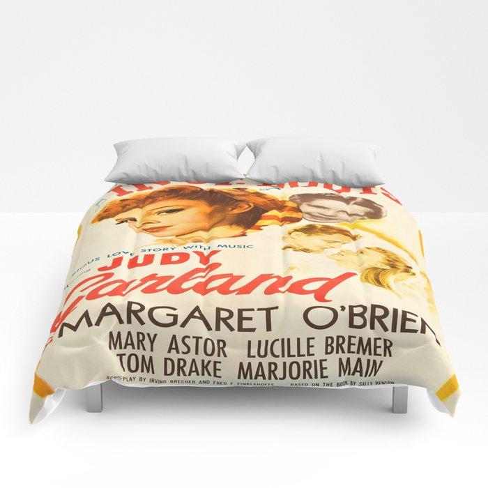 Vintage poster - Meet Me in St. Louis Comforters