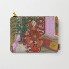 """""""MARUSHKA, HOME ON TUESDAY EVENING"""" Carry-All Pouch"""