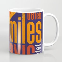 Miles Da-vis Retro Style Concert Poster Art Print Coffee Mug