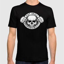 Black/White Emblem T-shirt