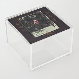 Cosmic Black Acrylic Box