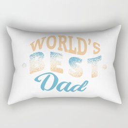 WORLD'S BEST DAD Rectangular Pillow