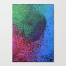 mysterious face Canvas Print