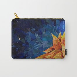 Star Bloom Collage Carry-All Pouch