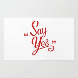 Say Yes Rug