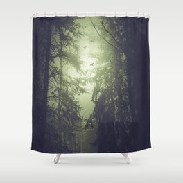 Life choices Shower Curtain