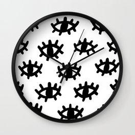 Eyes Wall Clock