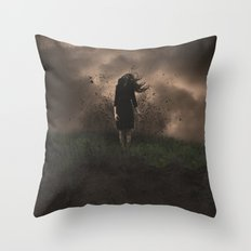 A FORCE TO BE RECKONED WITH Throw Pillow