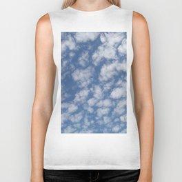 TEXTURES:Just Clouds #2 Biker Tank