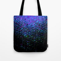 gravity Tote Bags featuring gravity by Bunny Noir