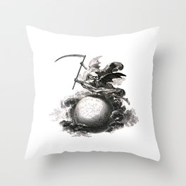 Death of the World Throw Pillow