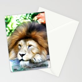 Lion Art One Stationery Cards