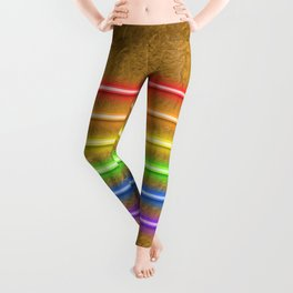 Flag Equality - gold Leggings