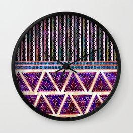 Ava Boho Mix Wall Clock