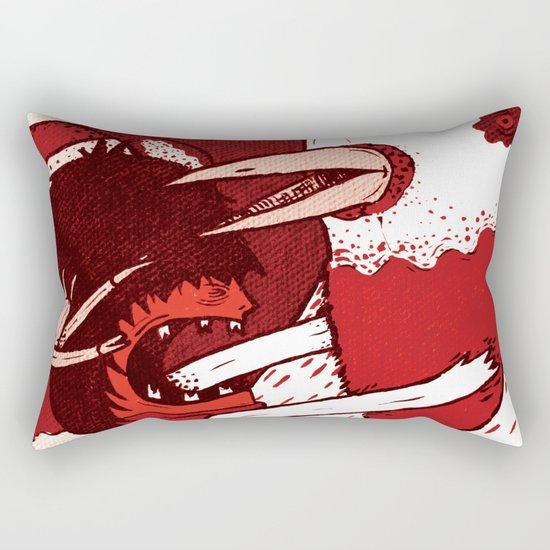 Crowd – Love Love Yeah! Rectangular Pillow