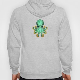 Cute Green Baby Octopus Hoody