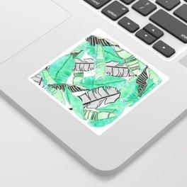 Banana leaf Sticker