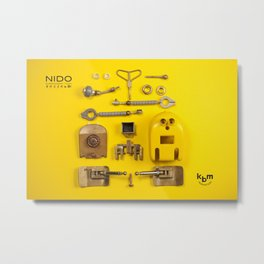 Break up a NIDO Metal Print