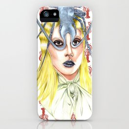 Lobster girl iPhone Case