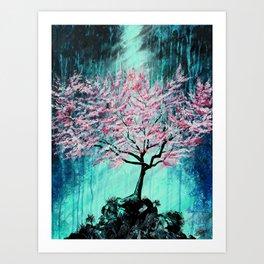 Radiant Crescendo Art Print