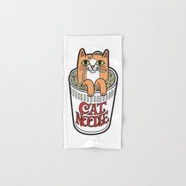 Cat Noodle Hand & Bath Towel