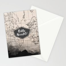 Hello World! Stationery Cards