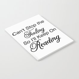 Can't Stop the Feeling Notebook