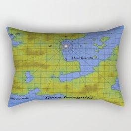 Terra Incognita Rectangular Pillow