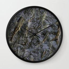 Salmon Run Wall Clock