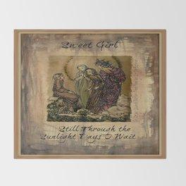 Sulamith Wulfing - Sweet Girl Lyrics Inspired by Stevie Nicks Throw Blanket