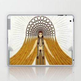 "Art Deco Oriental Design ""Café Foujita"" Laptop & iPad Skin"