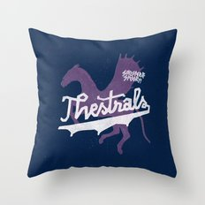 Thestrals Throw Pillow