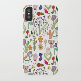 We belong among the wildflowers. iPhone Case