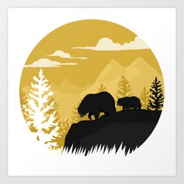 Bear Valley Art Print