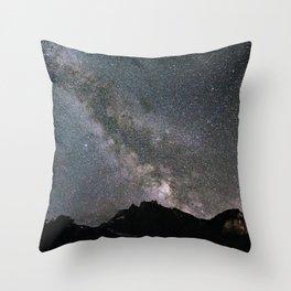 Night in Switzerland Throw Pillow