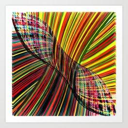 Time loop Art Print
