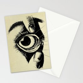 Vintage Anatomy The Conjunctiva of the Eye Stationery Cards