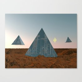 Exit Planet Dust Canvas Print