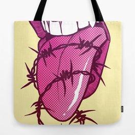 Barbed Tongue Tote Bag