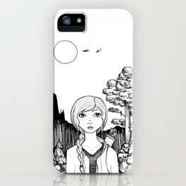 Katniss's Silver Lining iPhone Case