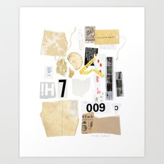 Paper Trail II Art Print