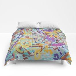 Shamanic Painting 08 Comforters