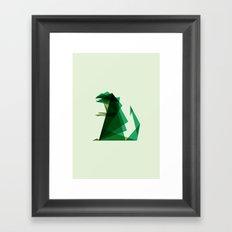 G-ZILLA Framed Art Print