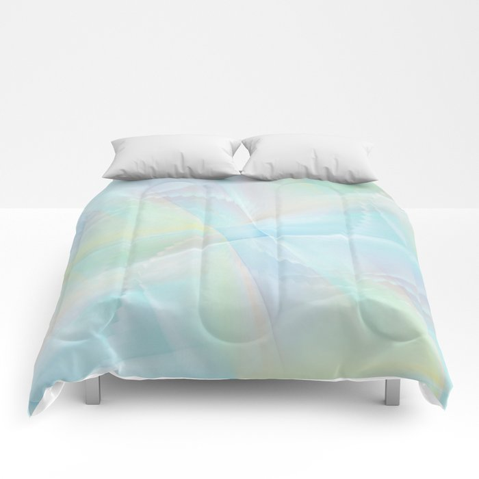 Abstract pastel no. 14 Comforters