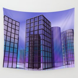 city -w5- Wall Tapestry