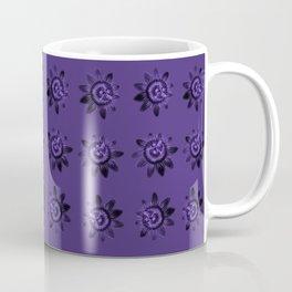 passion flower in violet Coffee Mug